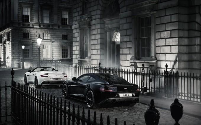 Aston Martin Vanquish Wallpapers dark