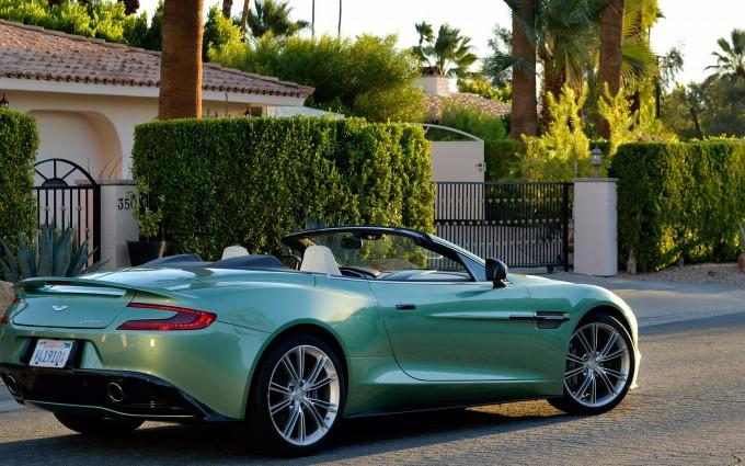 Aston Martin Vanquish Wallpapers green hd