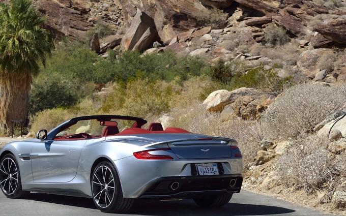 Aston Martin Vanquish Wallpapers nature
