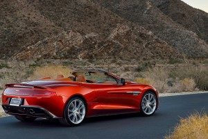 Aston Martin Vanquish Wallpapers red