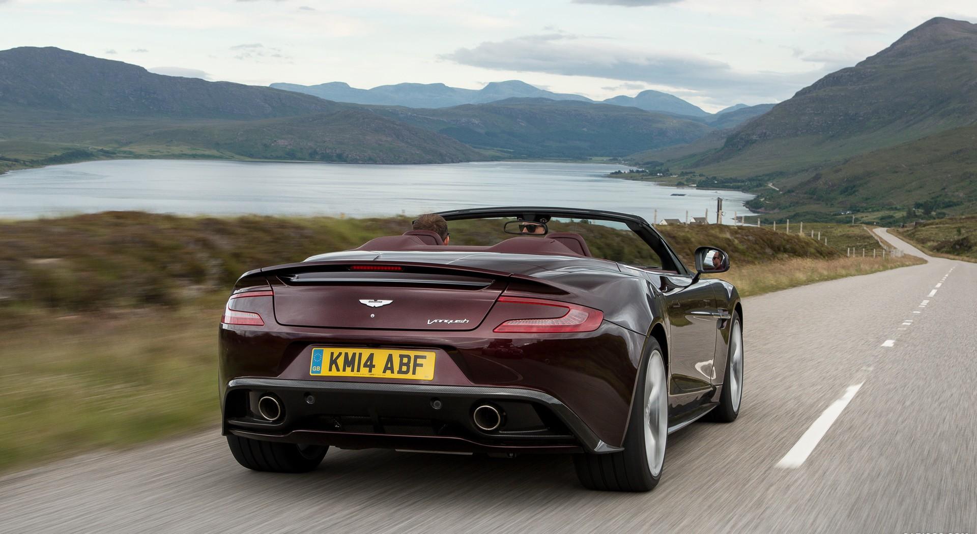 Aston Martin Vanquish Wallpapers road