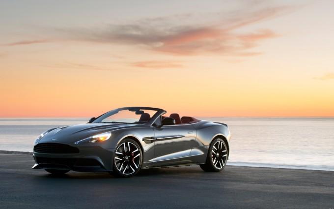 Aston Martin Vanquish Wallpapers sunrise
