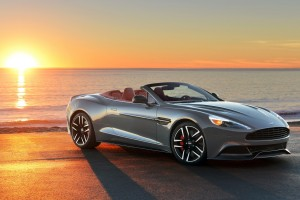 Aston Martin Vanquish Wallpapers sunset