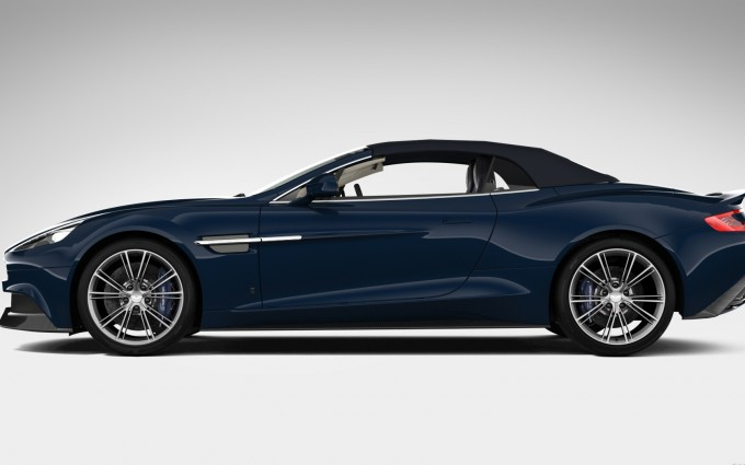 Aston Martin Vanquish Wallpapers volante