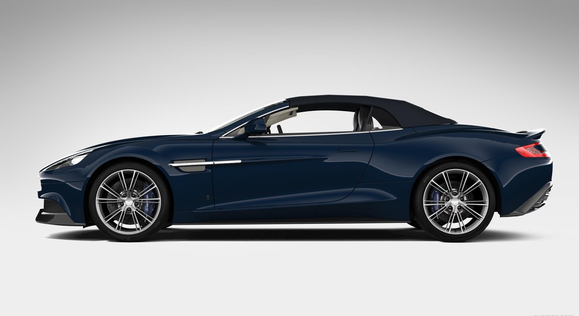 Aston Martin Vanquish Wallpapers volante