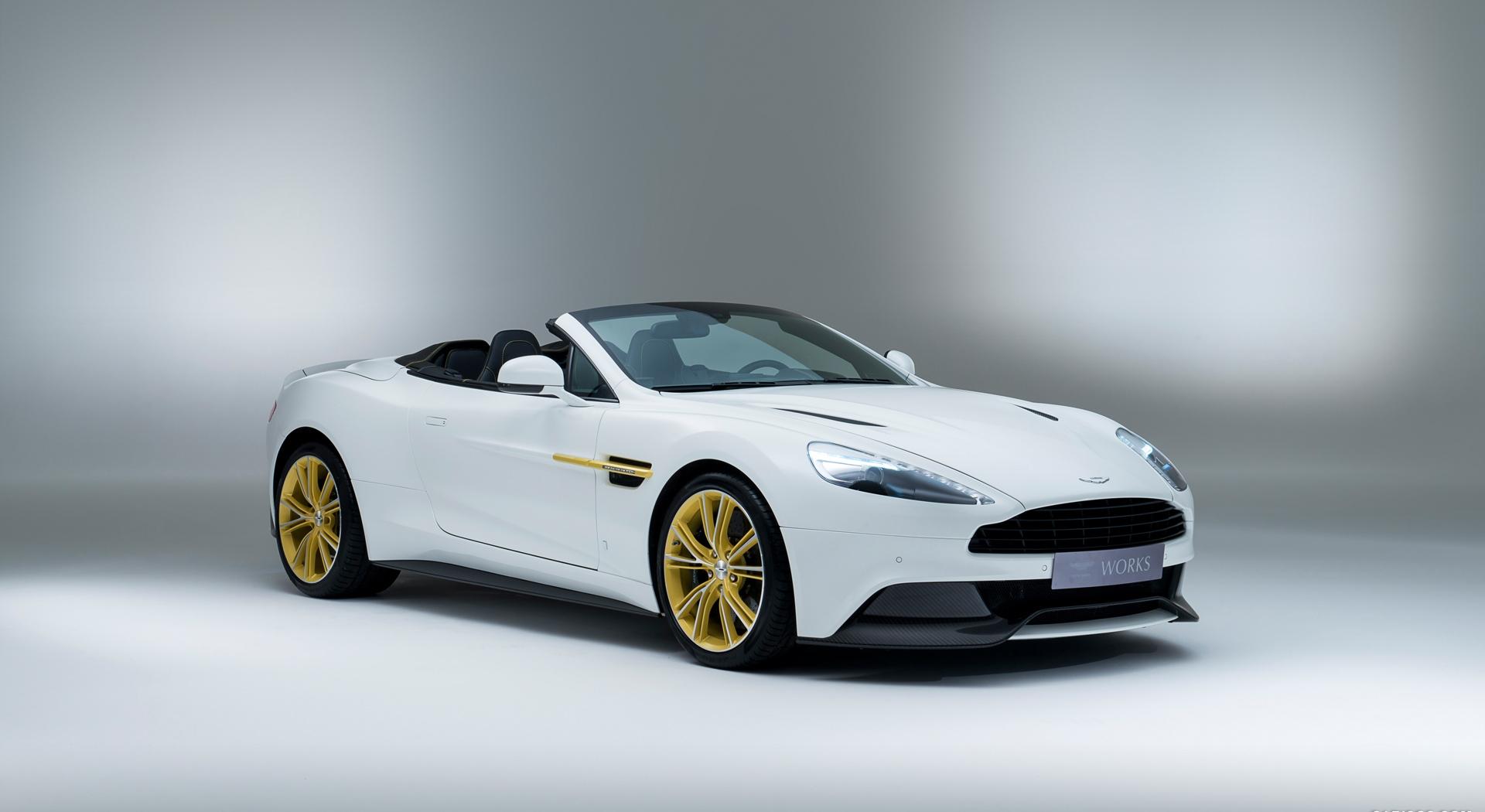 Aston Martin Vanquish White
