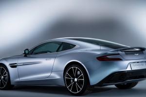 Aston Martin Vanquish back