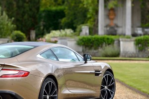 Aston Martin Vanquish beautiful grass