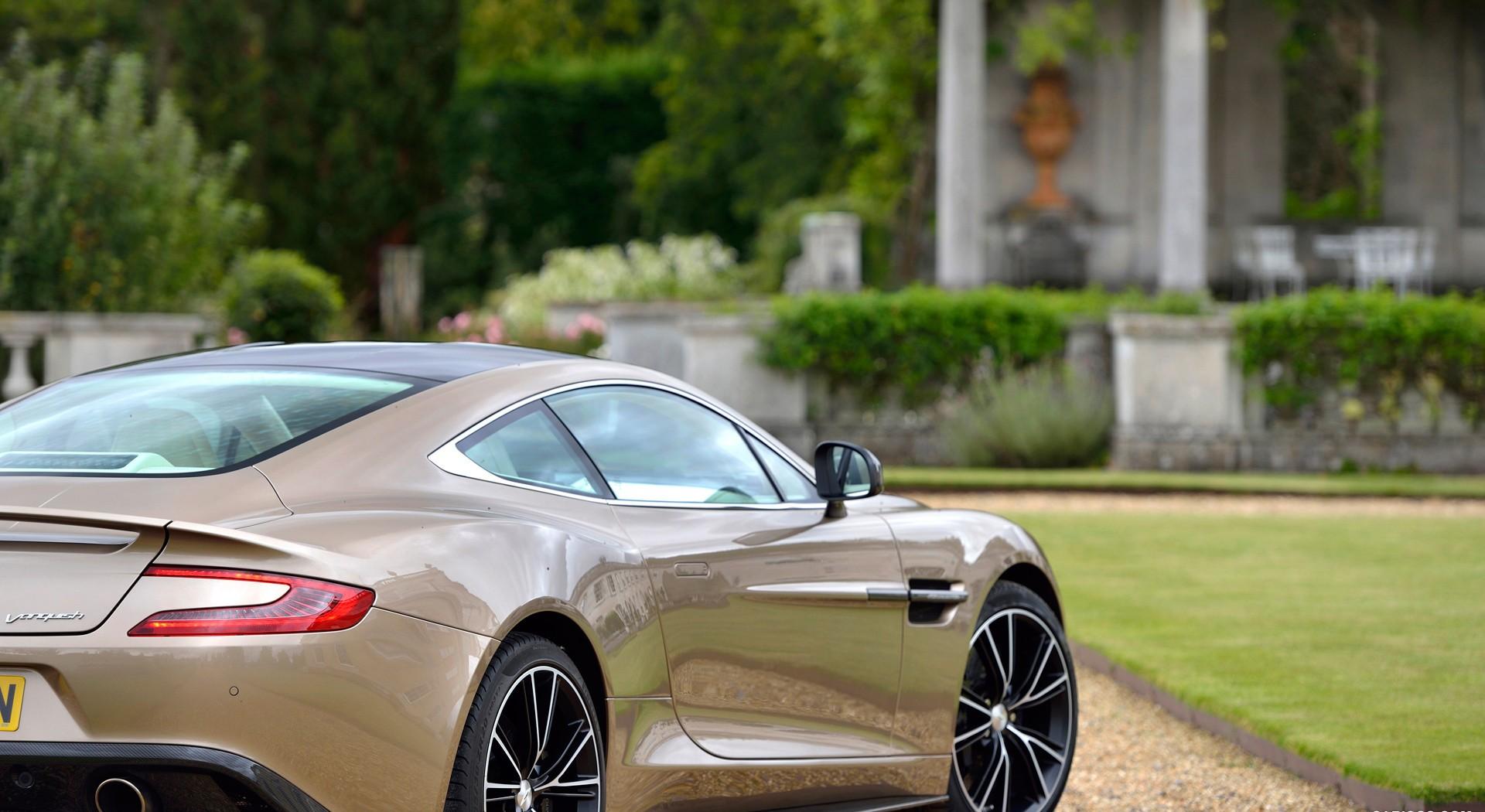Aston Martin Vanquish beautiful grass