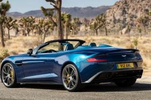 Aston Martin Vanquish behind