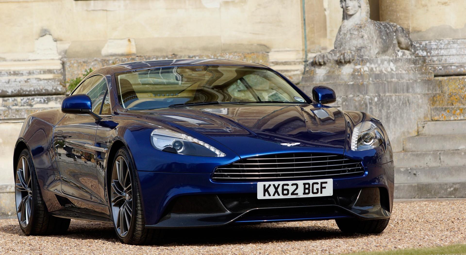 Aston Martin Vanquish blue A6 - HD Desktop Wallpapers | 4k HDAston Martin Vanquish Blue