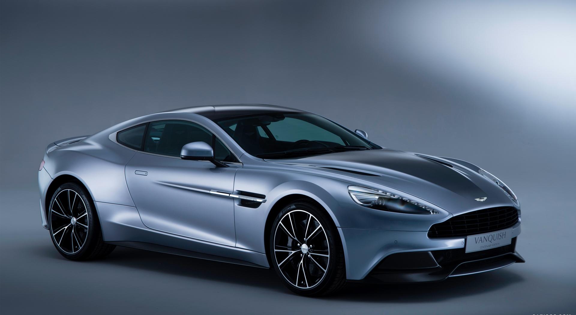 Aston Martin Vanquish front
