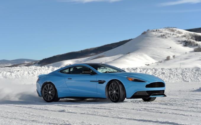 Aston Martin Vanquish image blue A3