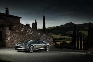 Aston Martin Vanquish photography