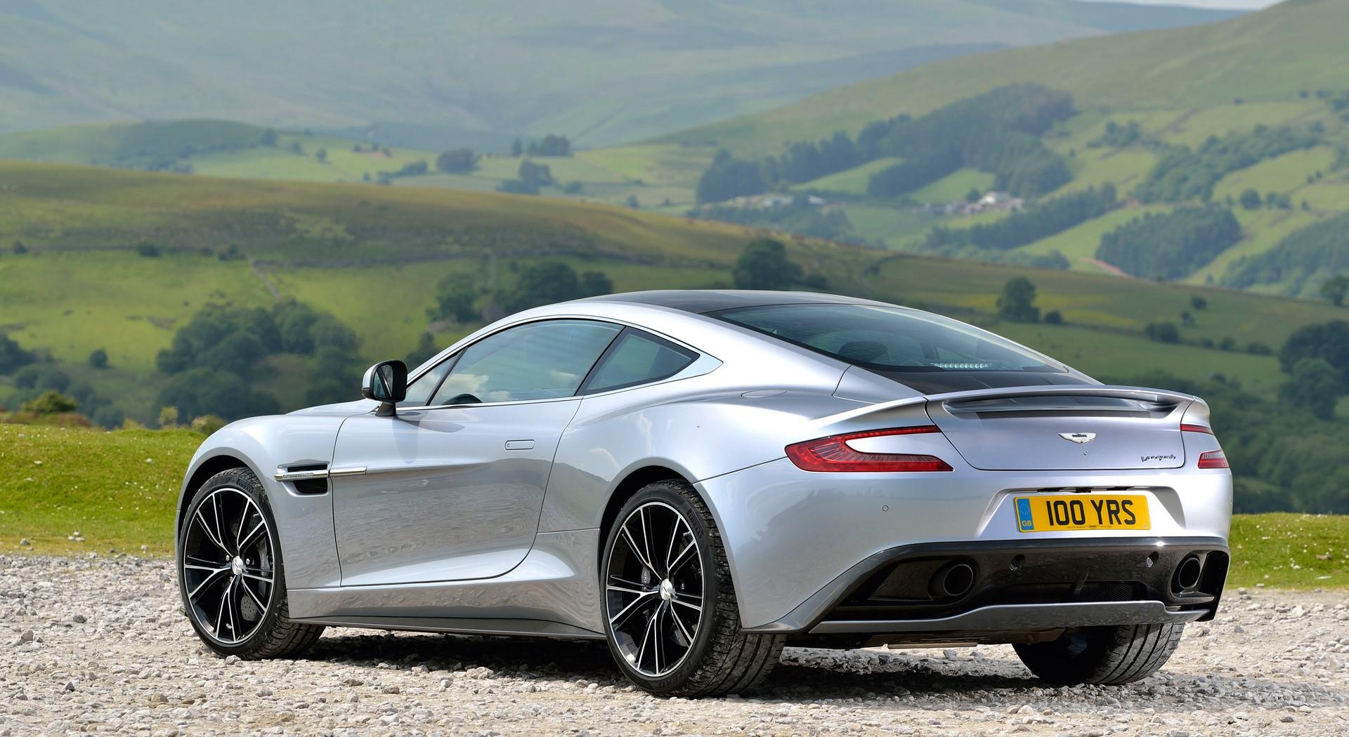 Aston Martin Vanquish rear