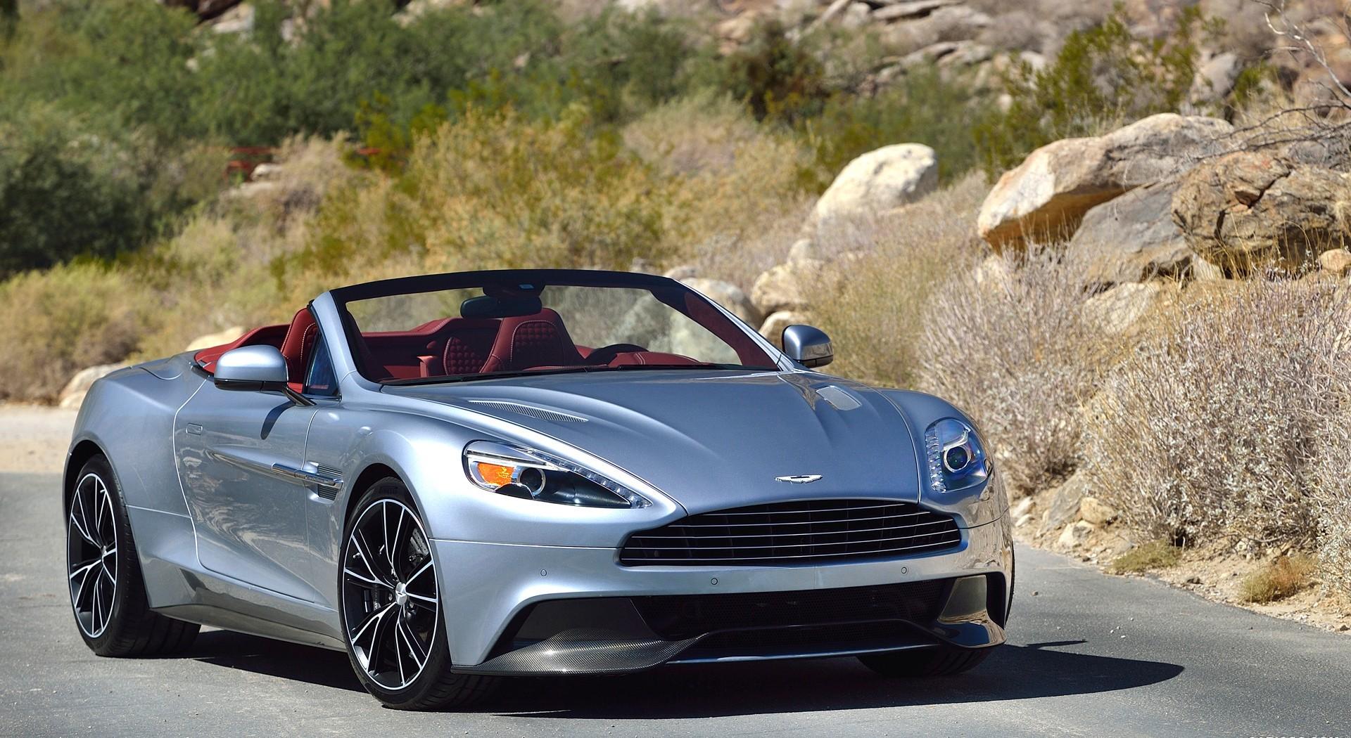 Aston Martin Vanquish roadside
