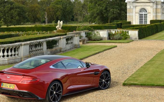 Aston Martin Vanquish specs