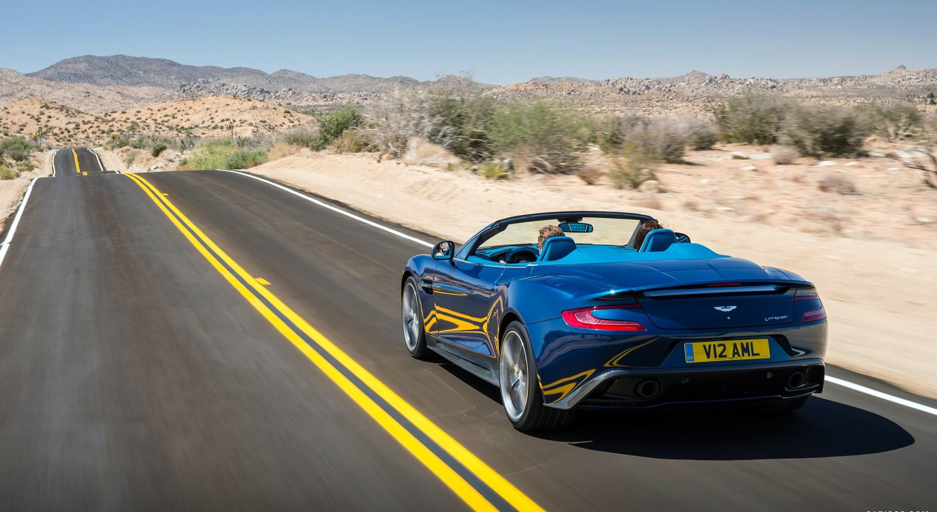 Aston Martin Vanquish splendid