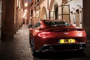 Aston Martin Vanquish streets