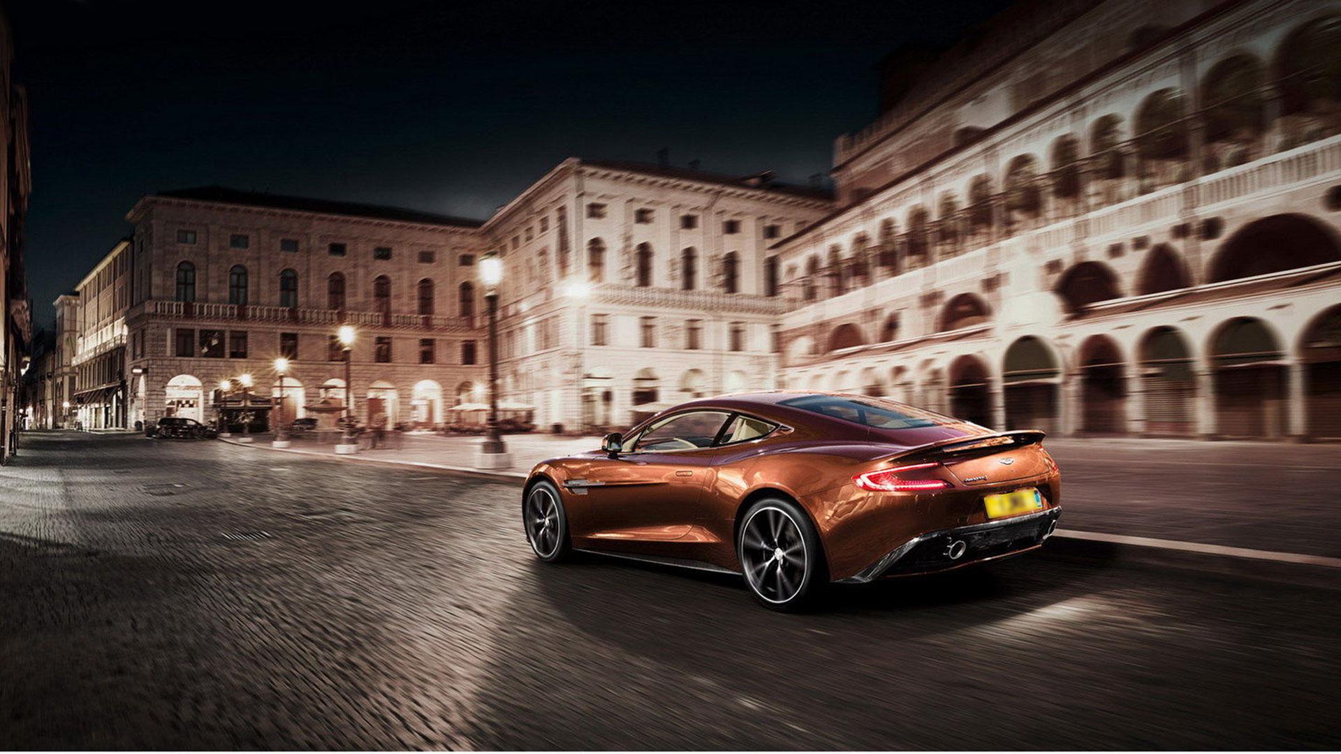 Aston Martin Vanquish v12 HD