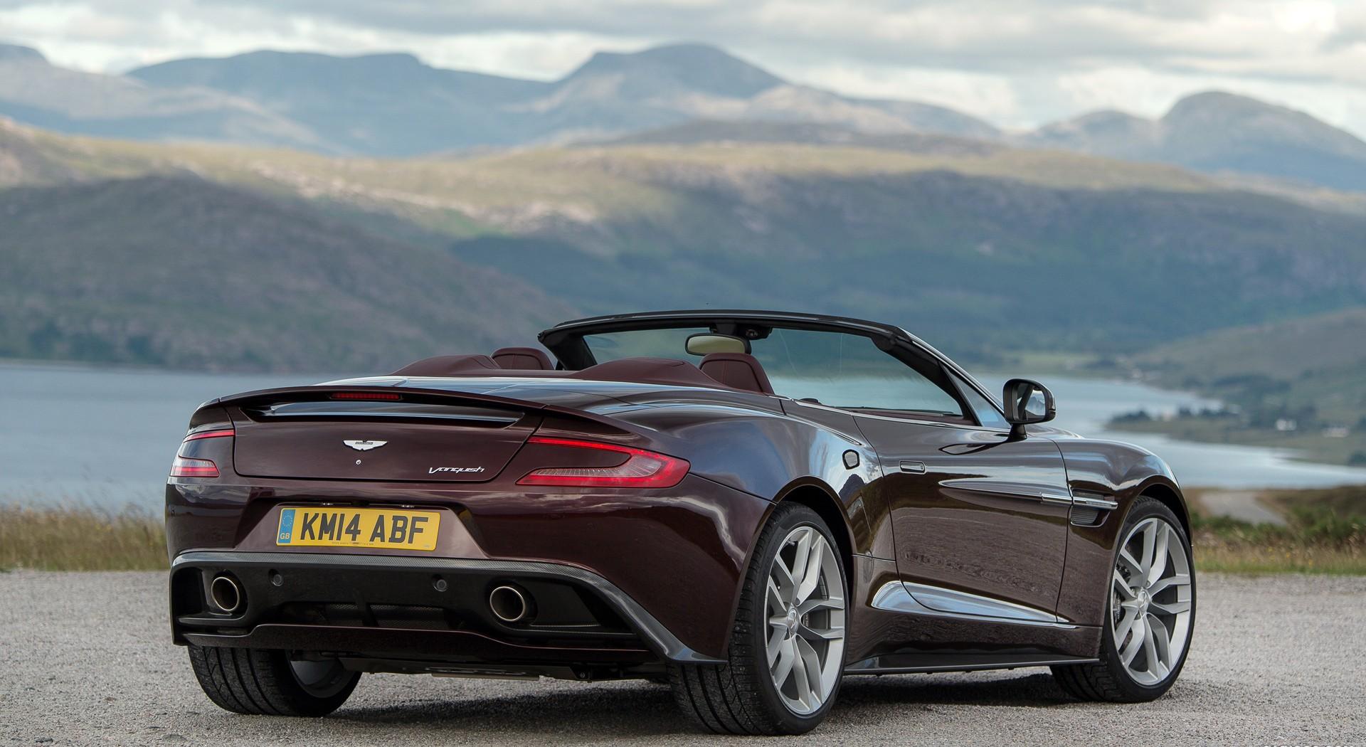 Aston Martin Vanquish volante A1