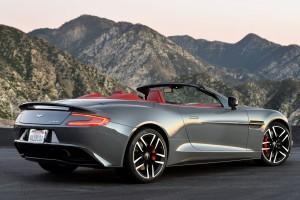 Aston Martin Vanquish volante A3