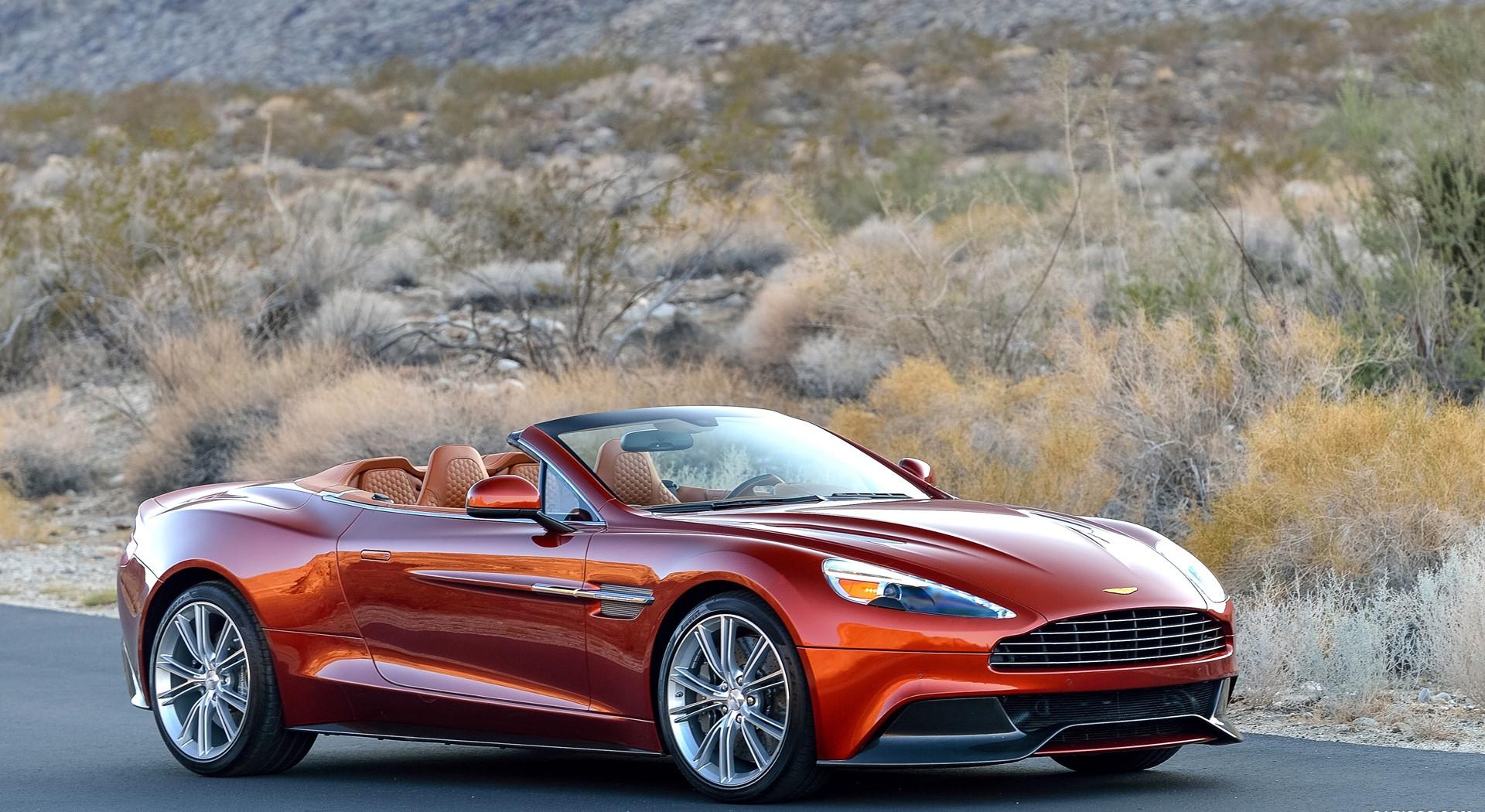 Aston Martin Vanquish yhd