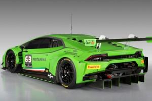 Lamborghini Huracan gt3 green
