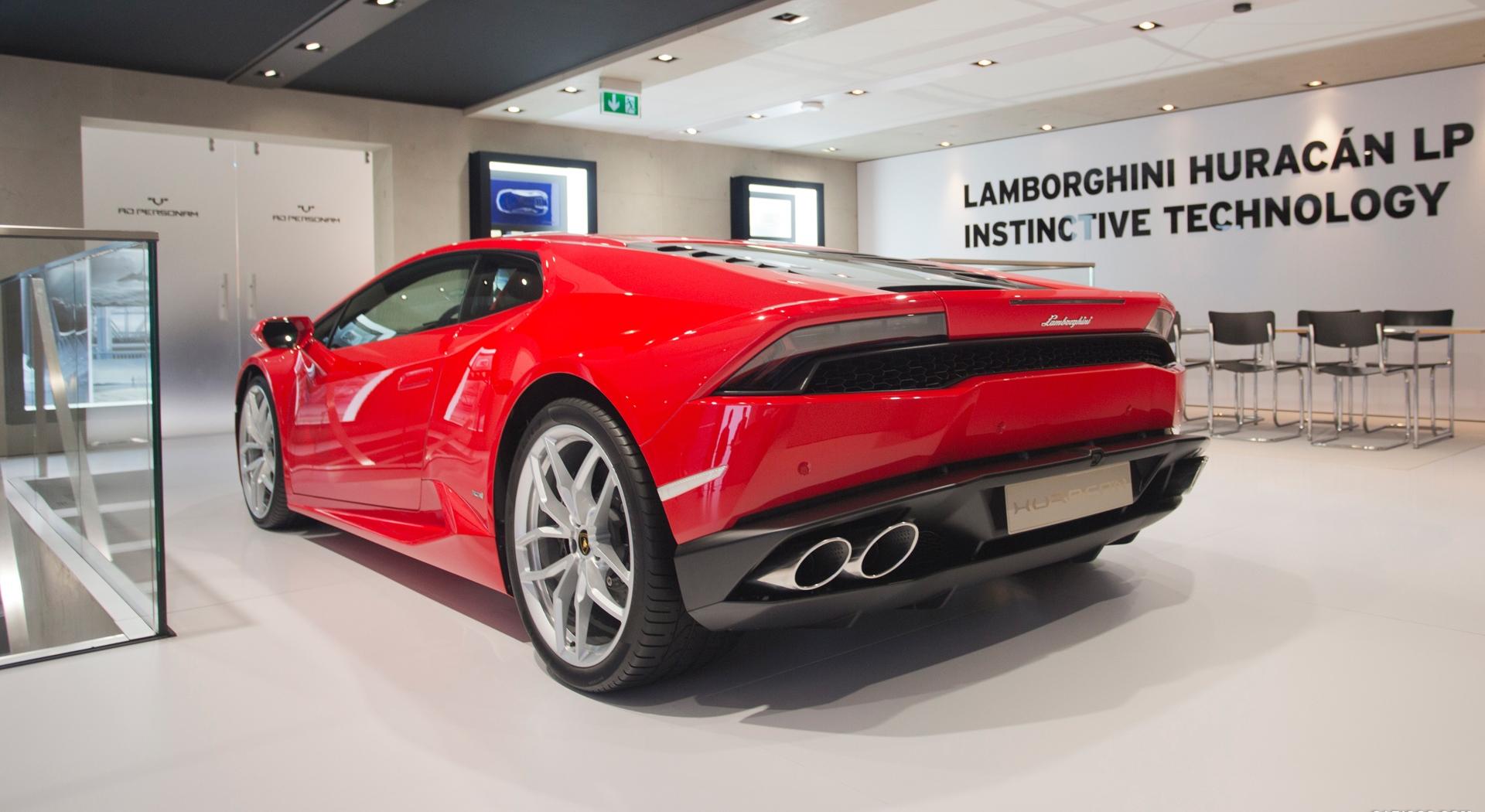 Lamborghini Huracan Red Hd Desktop Wallpapers 4k Hd