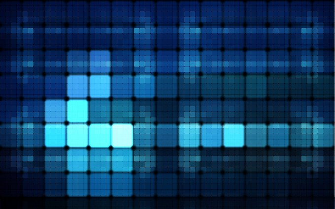 abstract wallpapers hd blue  lights