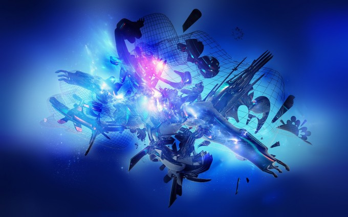 abstract wallpapers hd graphic blue