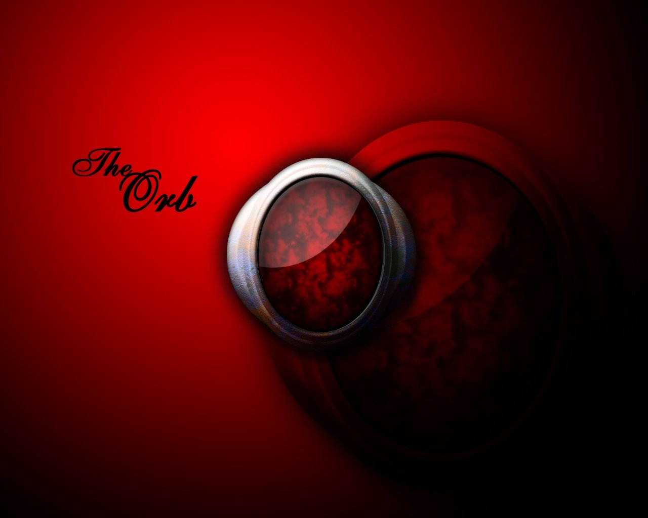 abstract wallpapers hd red orb