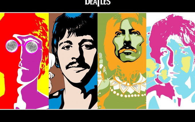 abstract wallpapers hd the beatles
