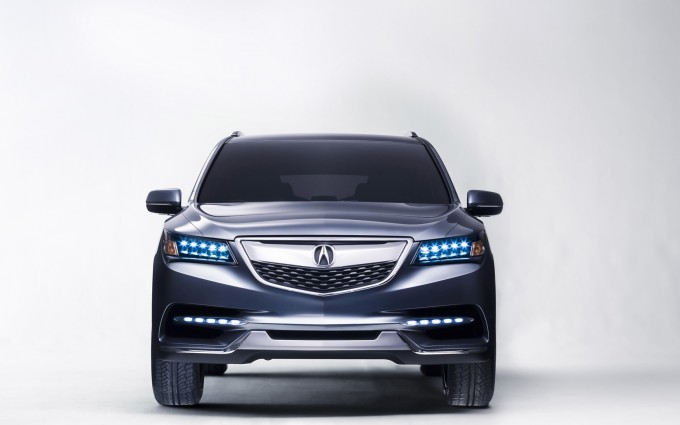 acura mdx Wallpapers hd front