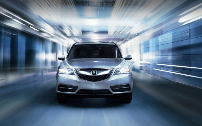 acura mdx Wallpapers hd lights