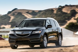 acura mdx color black