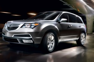acura mdx colors