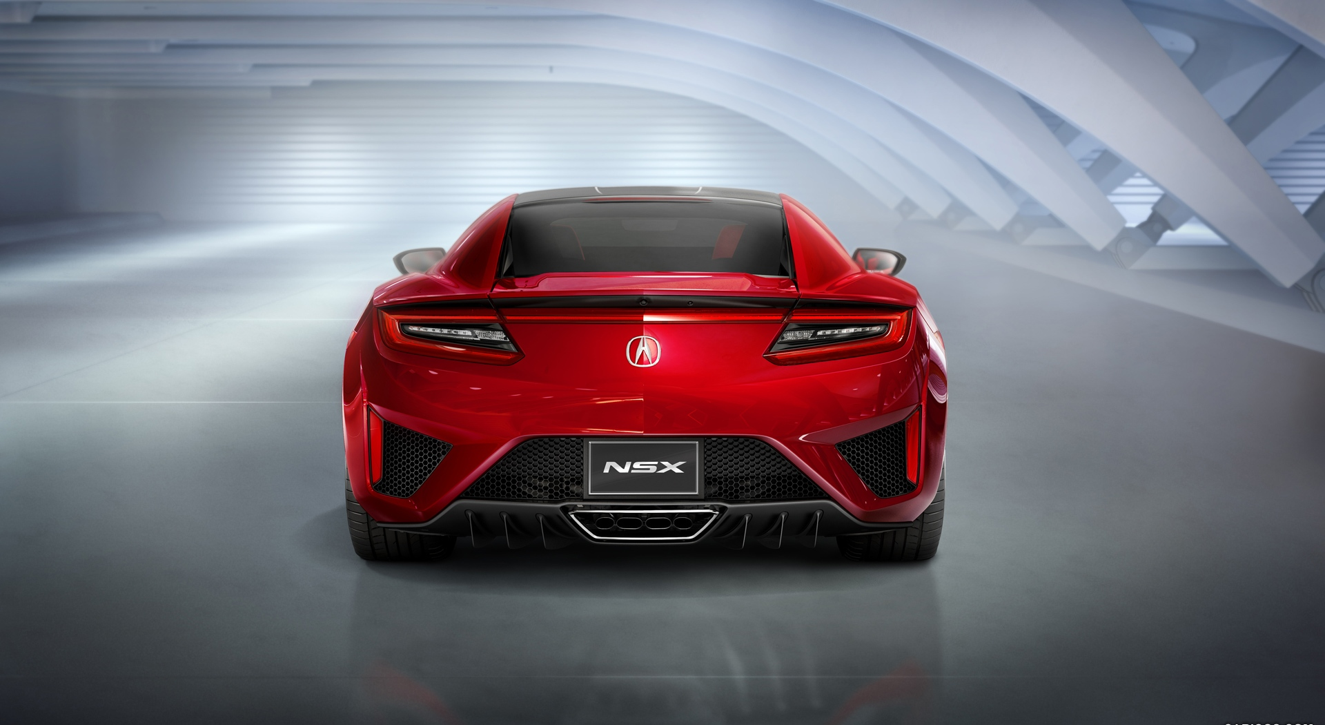 acura nsx back