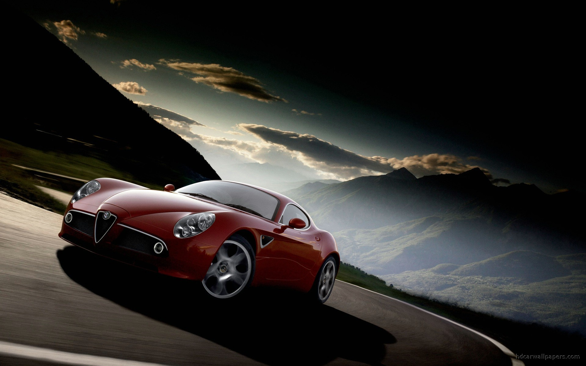 alfa romeo 8c incredible