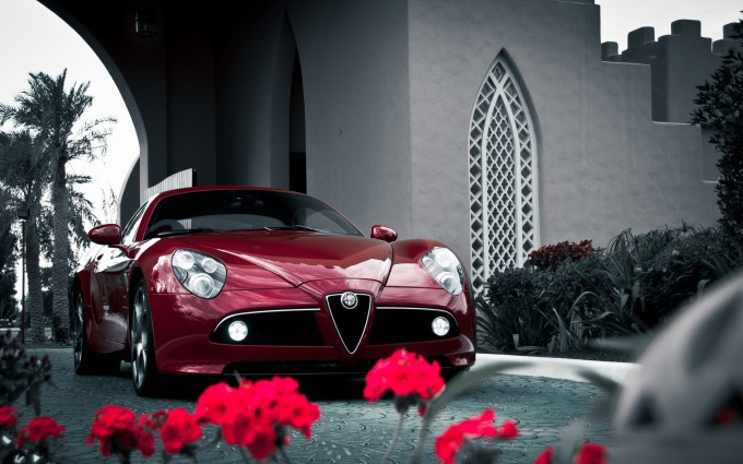 alfa romeo 8c sports sweet
