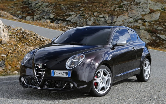 alfa romeo mito wallpaper black curves