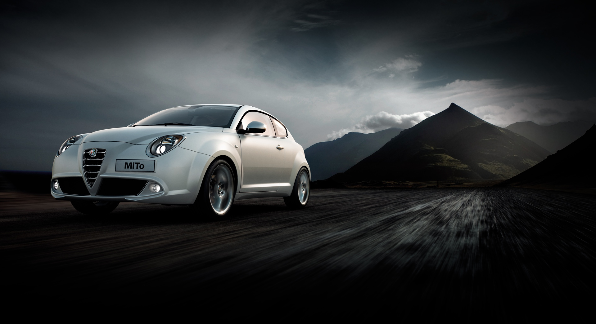 alfa romeo mito wallpaper dark