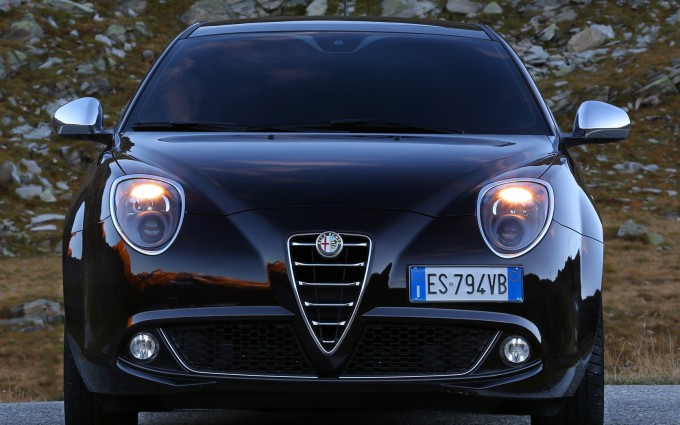alfa romeo mito wallpaper light