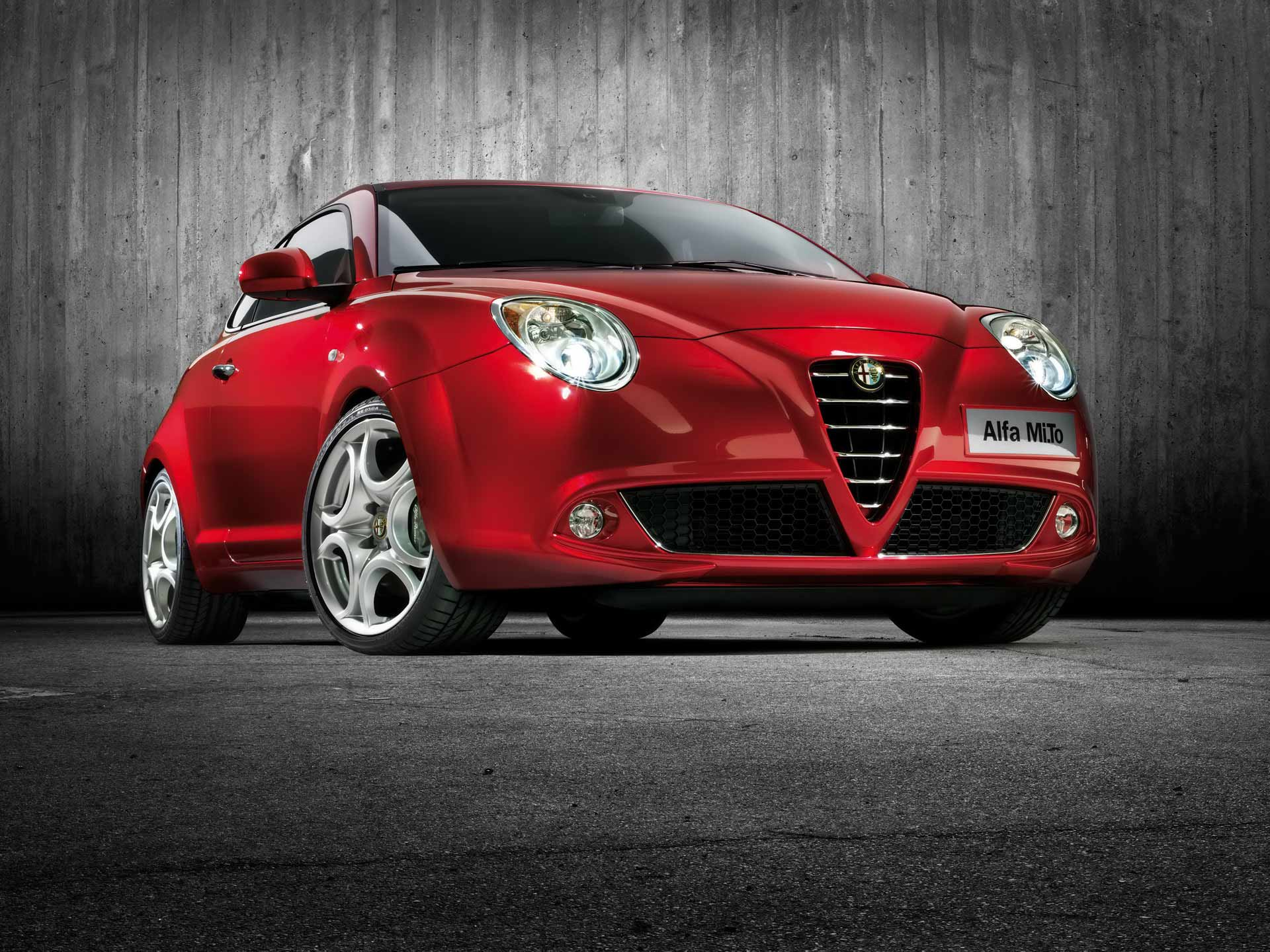 alfa romeo mito wallpaper red