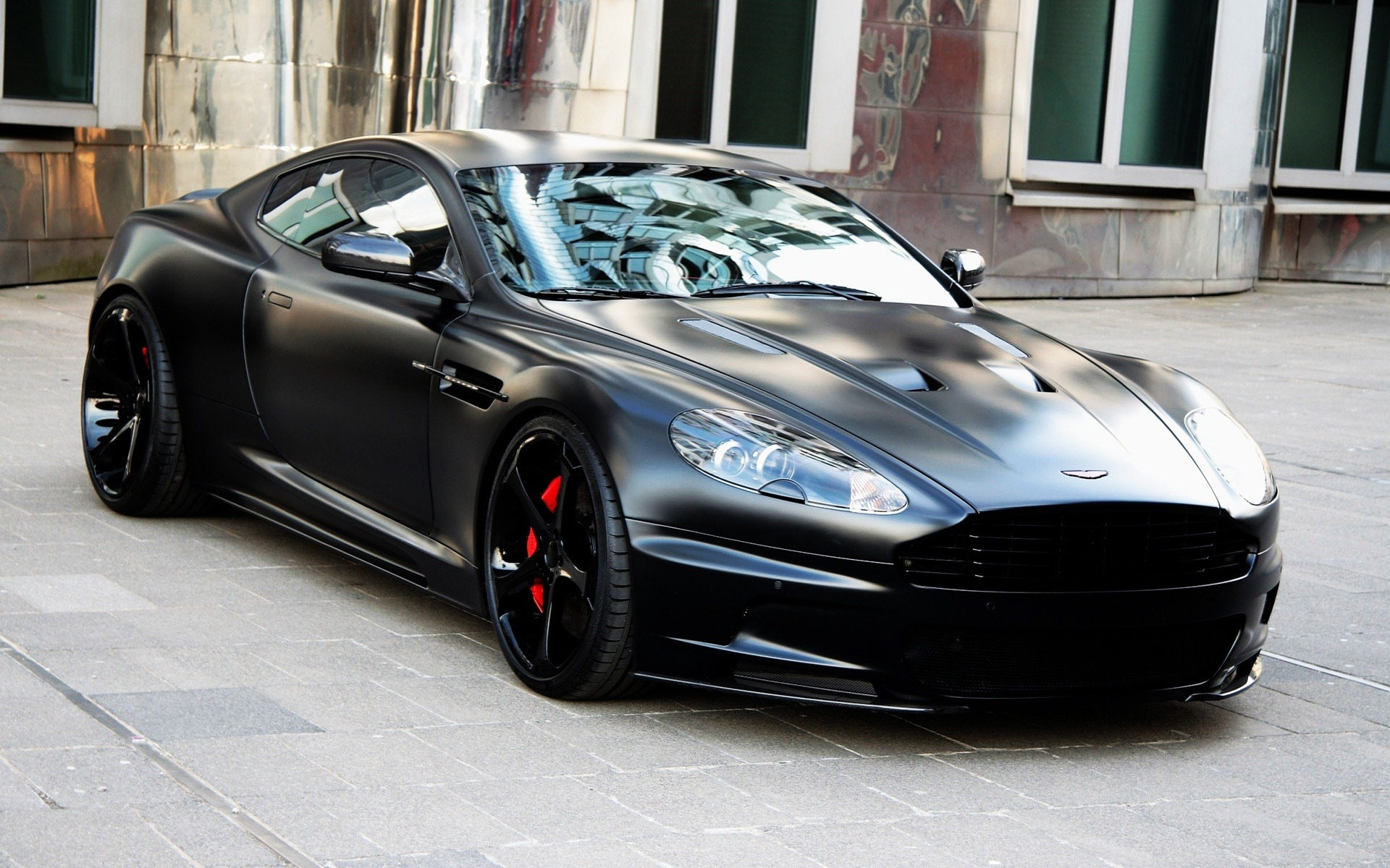 astin martin db9 wallpaper black custom
