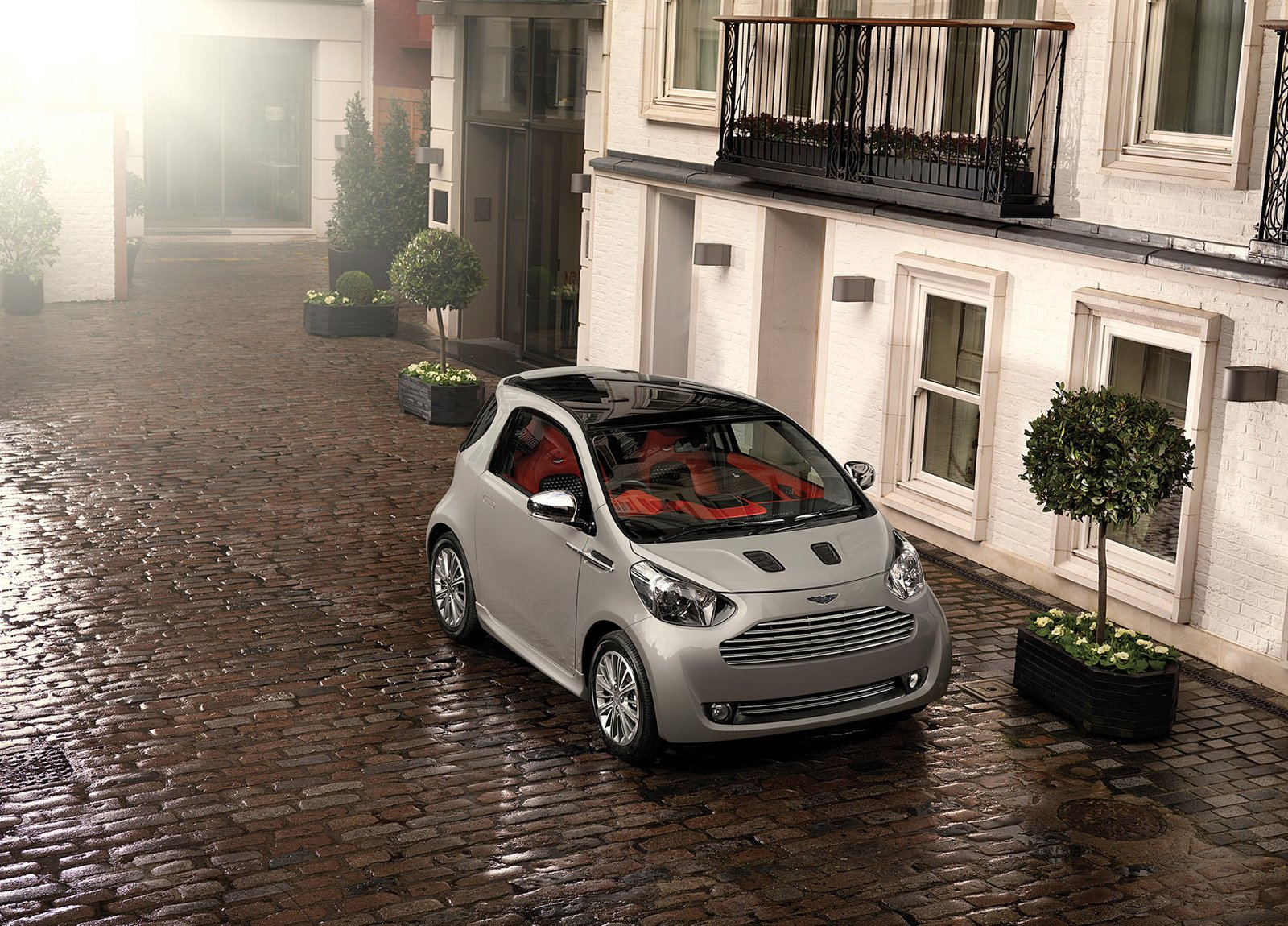 aston martin cygnet city