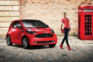 aston martin cygnet red