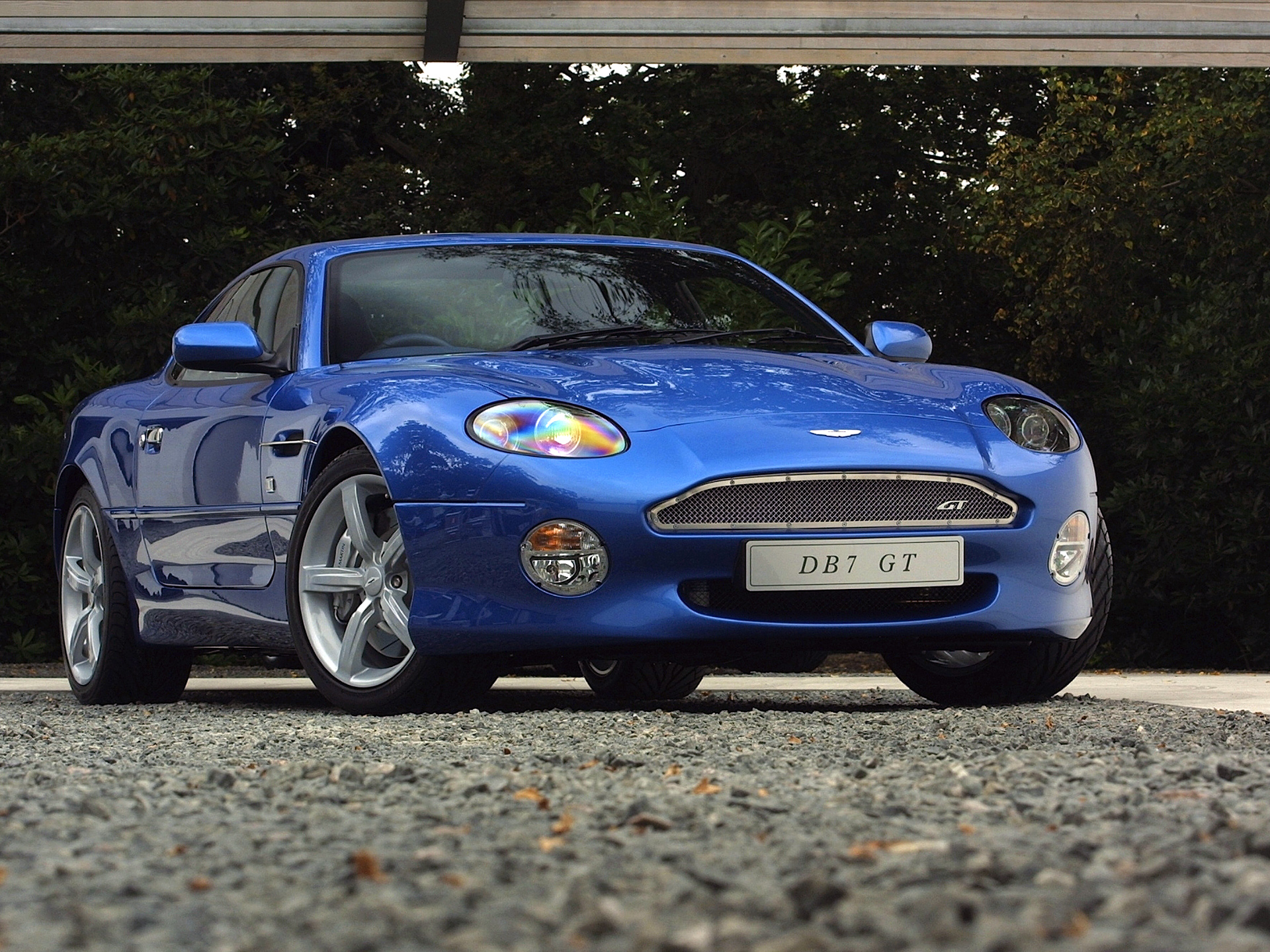 aston martin db7 dark blue