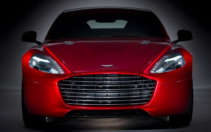 aston martin rapide front