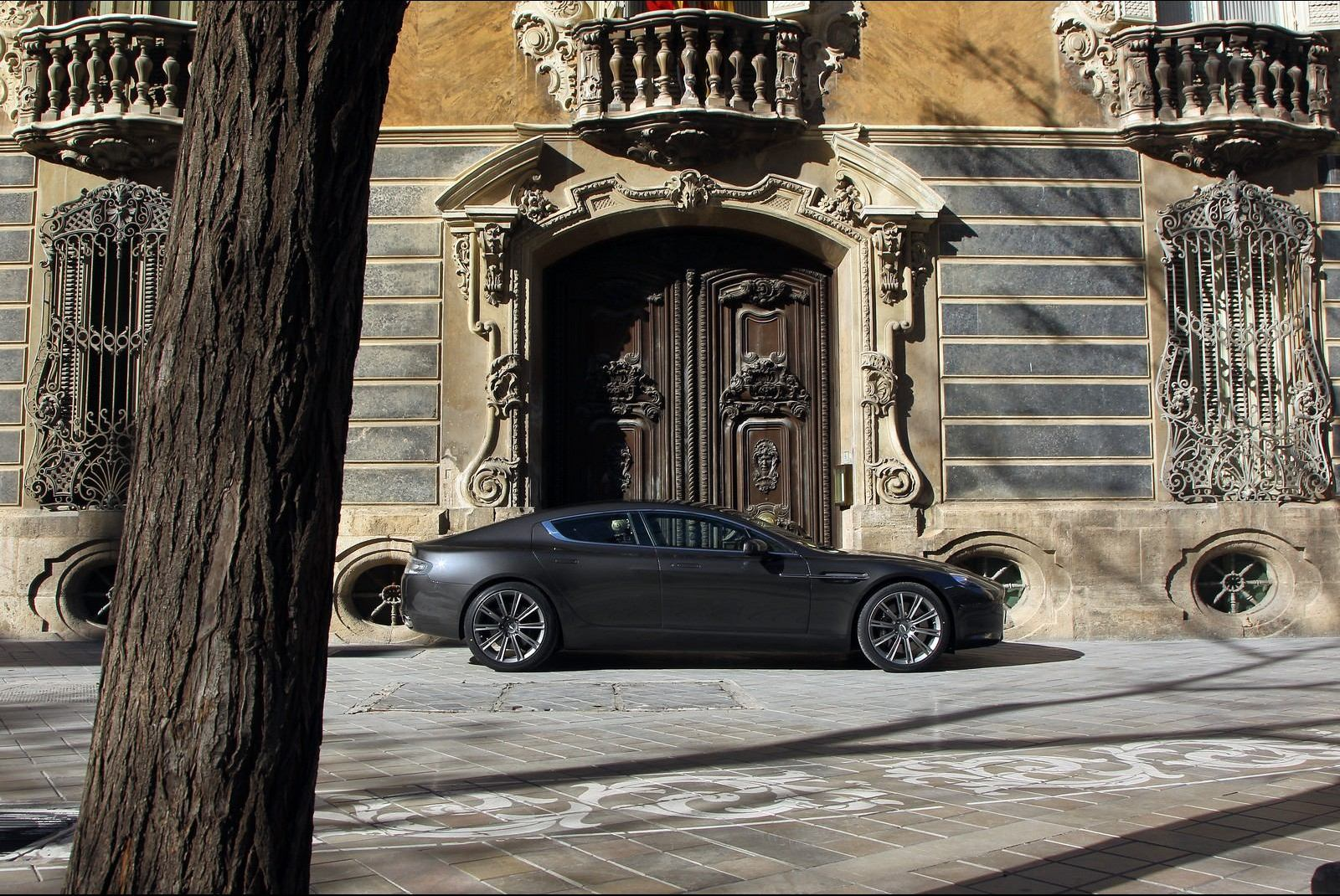 aston martin rapide photography